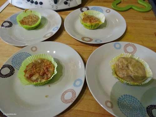 Muffins ifertig zum Servieren