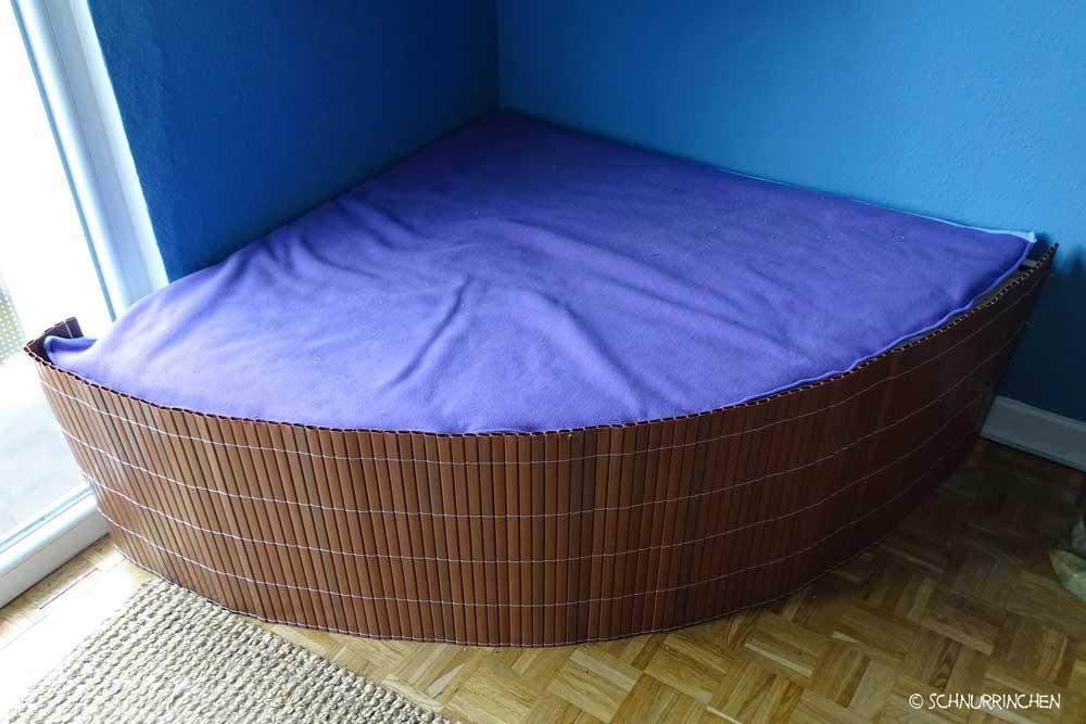 diy anleitung kuschelecke mit h ngematte schnurrinchen. Black Bedroom Furniture Sets. Home Design Ideas