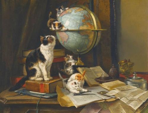 Unsere 10 beliebtesten Gemälde mit Katzen