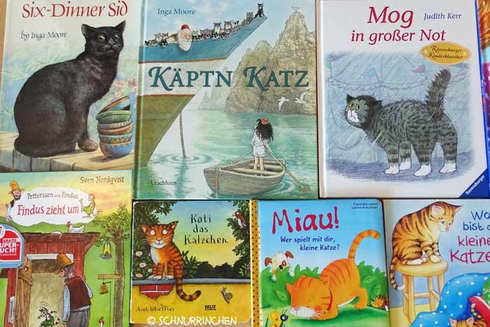 Kinderbücher mit Katzen