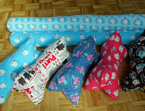 Neue Produkte im Shop: Zugluftstopper und Leseknochen