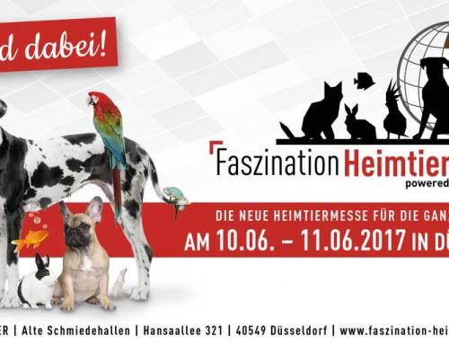 Gewinnspiel zur Heimtiermesse in Düsseldorf vom 10.06.-11.06.2017